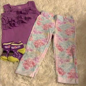 Garanimals Purple girls set